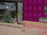 Salon de Noel en 3D