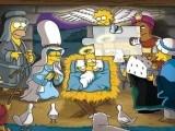 Creche Simpson de Noel