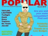 Lady gaga en couverture