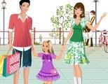 Le père, la mère et la fille