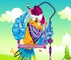 Joli perroquet personnalisé