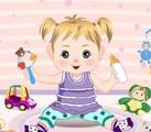 Petite fille à habiller