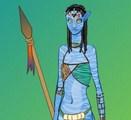 Neytiri dans Avatars
