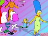 Habiller Marge Simpsons