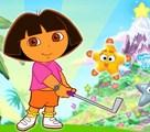 Golf avec Dora