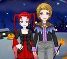Couple pour Halloween