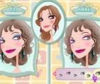 Course au maquillage