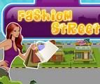Une rue hyper fashion