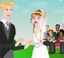 Bisou de mariage d'Annie