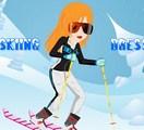 Mimi part skier