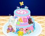 Gâteau 3D pour bébé