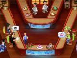 Jeu de serveuse dans un sushi bar