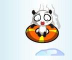 Panda glissant