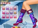 Styliste de bottes de pluie