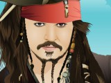 Pirate des caraïbes Johnny Depp