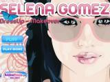 Maquillage habillage de Selena