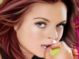 Lindsay Lohan relookée