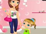 Shopping avec maman