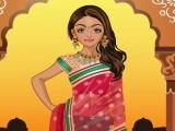 Habillage de tradition indienne