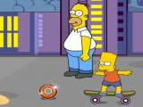 Bart en skate