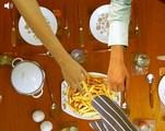 Jeux de cuisine : Protéger les frites