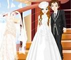 Jeux d'habillage de mariage