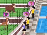 Soins d'animaux du zoo