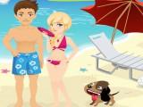 Bisou sur la plage