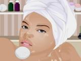 Rihanna au spa 2