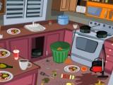 Ménage en cuisine