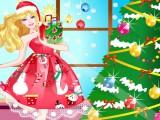 Habillée et belle pour Noel