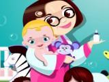 Nounou pour les bébés