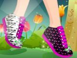 Nouvelle paire de chaussures