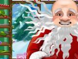 Coiffure de folie père Noel