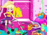 Polly range sa maison sur jeux fille gratuit - Jeux de ranger la maison ...