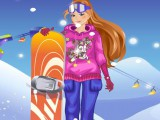 Prête pour skier !