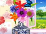 Vase et ses fleurs