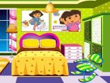 Décoration d'une fan de Dora