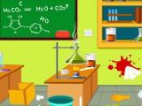 Laver le labo de chimie