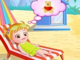 Hazel va à la plage