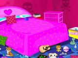 Rangement d'une chambre emo