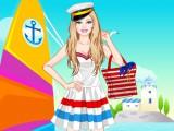 Habillage de vacances à la mer