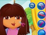 Coiffure de rentrée pour Dora