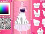 Création de robes de princesse