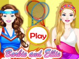 2 copines au tennis