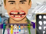 Crazy dentiste Justin Bieber