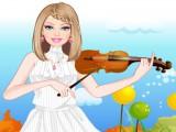 Habillage de la violoniste