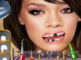 Crazy dentiste Rihanna