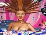 Coiffure de folie Rihanna