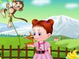 Bébé Emma va au zoo